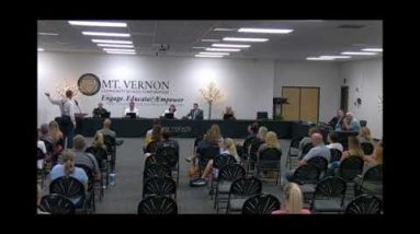 Mt. Vernon School Board Meeting - Dr. Dan Stock MD.... COVID-19, AND VACCINE -- WHAT TO BELIEVE?