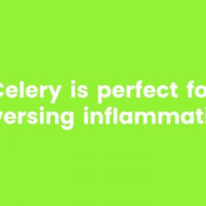 Celery Juice is Powered By Natures Mineral Salts