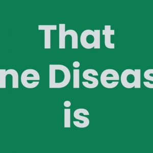 The One Disease